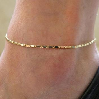Thin Chain Charm Anklet3