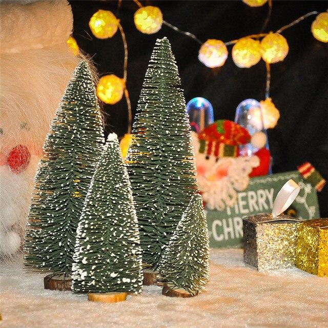 Schmuck Für Weihnachtsbaum.Us 1 34 30 Off 1 Stücke Mini Weihnachtsbaum Stick Weiße Zeder Tabletop Schmuck Kleine Weihnachtsbaum Weihnachtsdekoration Für Home10 15 20 25 Cm