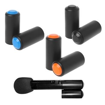 Crust pro 1 para mikrofonów bezprzewodowych ręczny mikrofon nakrętka baterii pokrywa dla Shure Pgx2 Slx2 tanie i dobre opinie BGEKTOTH Blat Mikrofon pojemnościowy Konferencja mikrofon Pojedyncze Mikrofon CN (pochodzenie) Dookólna wireless Y1QA4NB400585