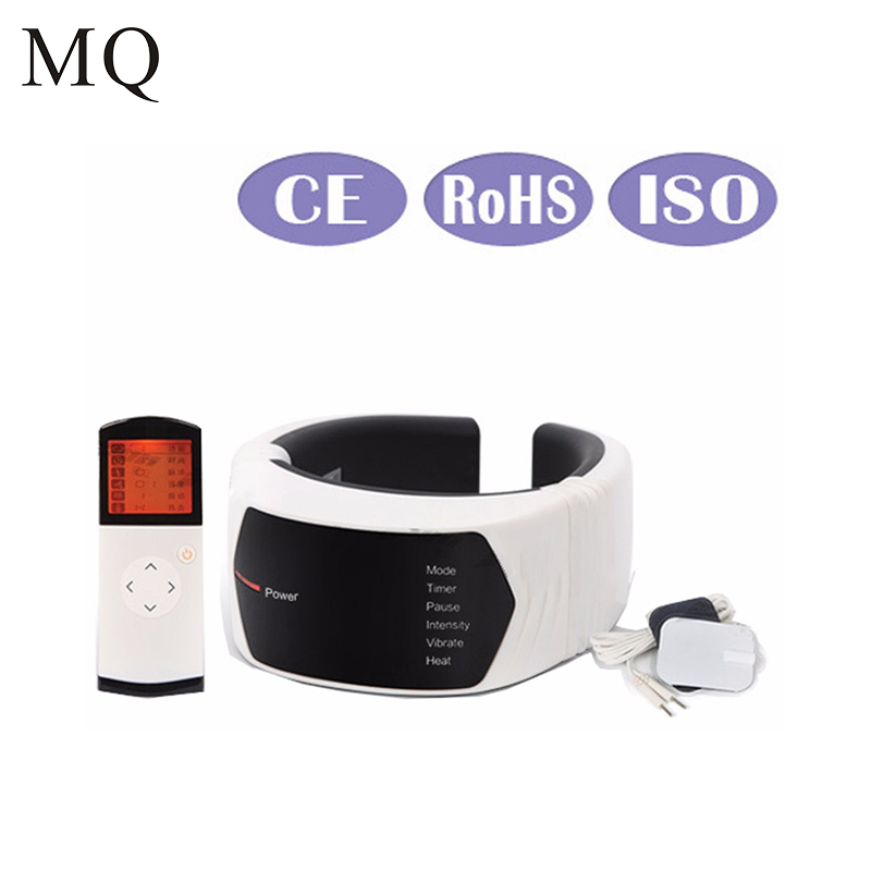 MQ Cervical Treatment Instrument Wireless Remote Control Neck Massager Acupuncture Magnetic Therapy Health Care persistent rhinitis treatment innovative health products
