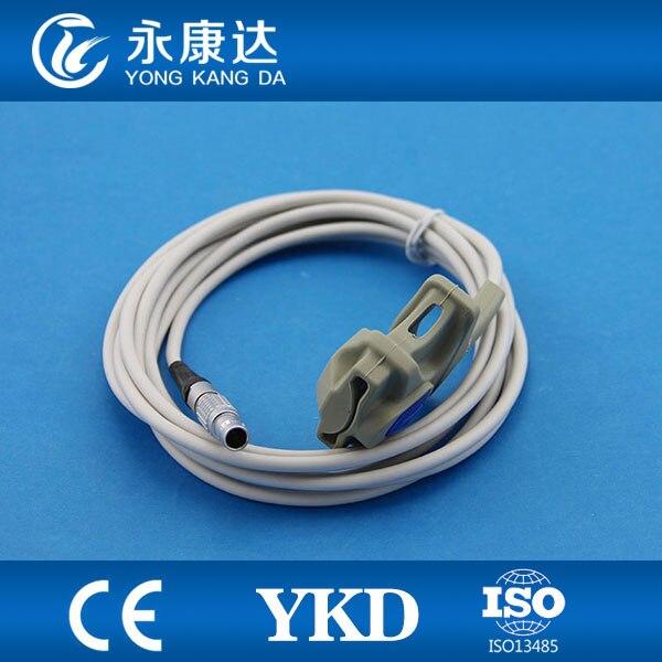 Reliable quality Goldway adult soft tip clip spo2 sensorReliable quality Goldway adult soft tip clip spo2 sensor