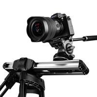 Micro 2 Camera Slider Track Dolly Slider Rail System Professional Portable Mini Travel Video Slider For DSLR BMCC RED ARRI mini