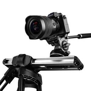Image 1 - Mini sistema deslizante para câmera, micro controle deslizante e micro câmera portátil para trilho profissional, arri de vídeo para viagem para dslr bmcc mini mini rede de proteção para carro