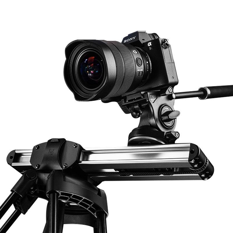 Mirco 2 caméra curseur piste Dolly curseur système de Rail professionnel Portable Mini voyage vidéo curseur pour DSLR BMCC rouge ARRI mini