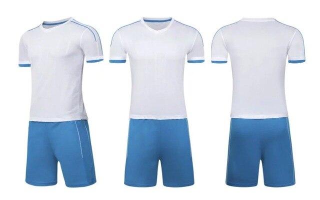 Top uniformes de fútbol personalizada jersey de fútbol en blanco ...
