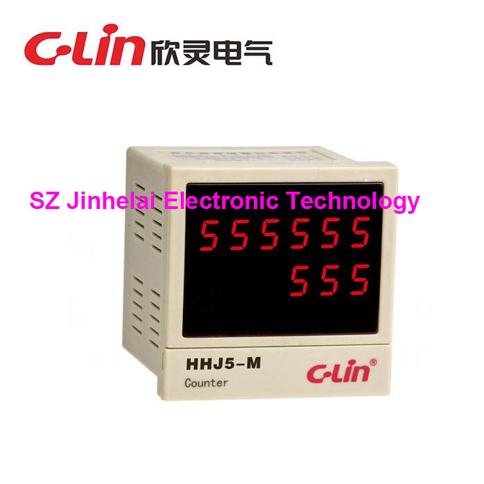 C-Lin HHJ5-M New and original Count relay  AC220V Reinforcement bar straightening machine special counterC-Lin HHJ5-M New and original Count relay  AC220V Reinforcement bar straightening machine special counter
