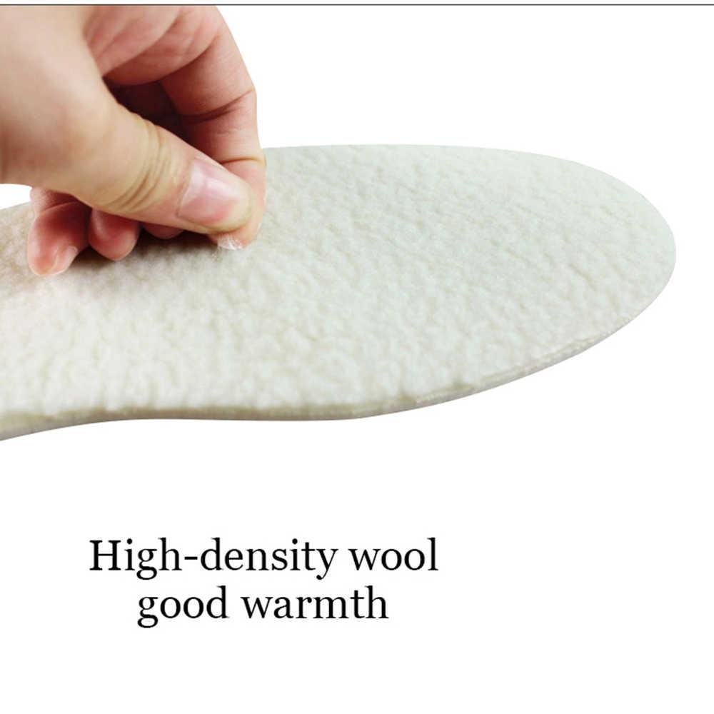 Sunvo Unisex Kış Isıtmalı Tabanlık Kar Botları Sıcak Yumuşak Yapay Kaşmir Termal Shearling Ayakkabı Pedleri Yetişkin Yün Sole Ekler