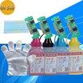 1 conjunto de impressora a cores pó de toner clt-d407 para samsung 407, clp 320 325 326 Clx 3186 3186FN 3185 Chip clt 407 toner cartucho