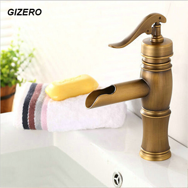 High Quality Bathroom Basin Faucet Antique Finish hot and cold vessel sink basin mixer Bathroom mixer crane ZR165High Quality Bathroom Basin Faucet Antique Finish hot and cold vessel sink basin mixer Bathroom mixer crane ZR165