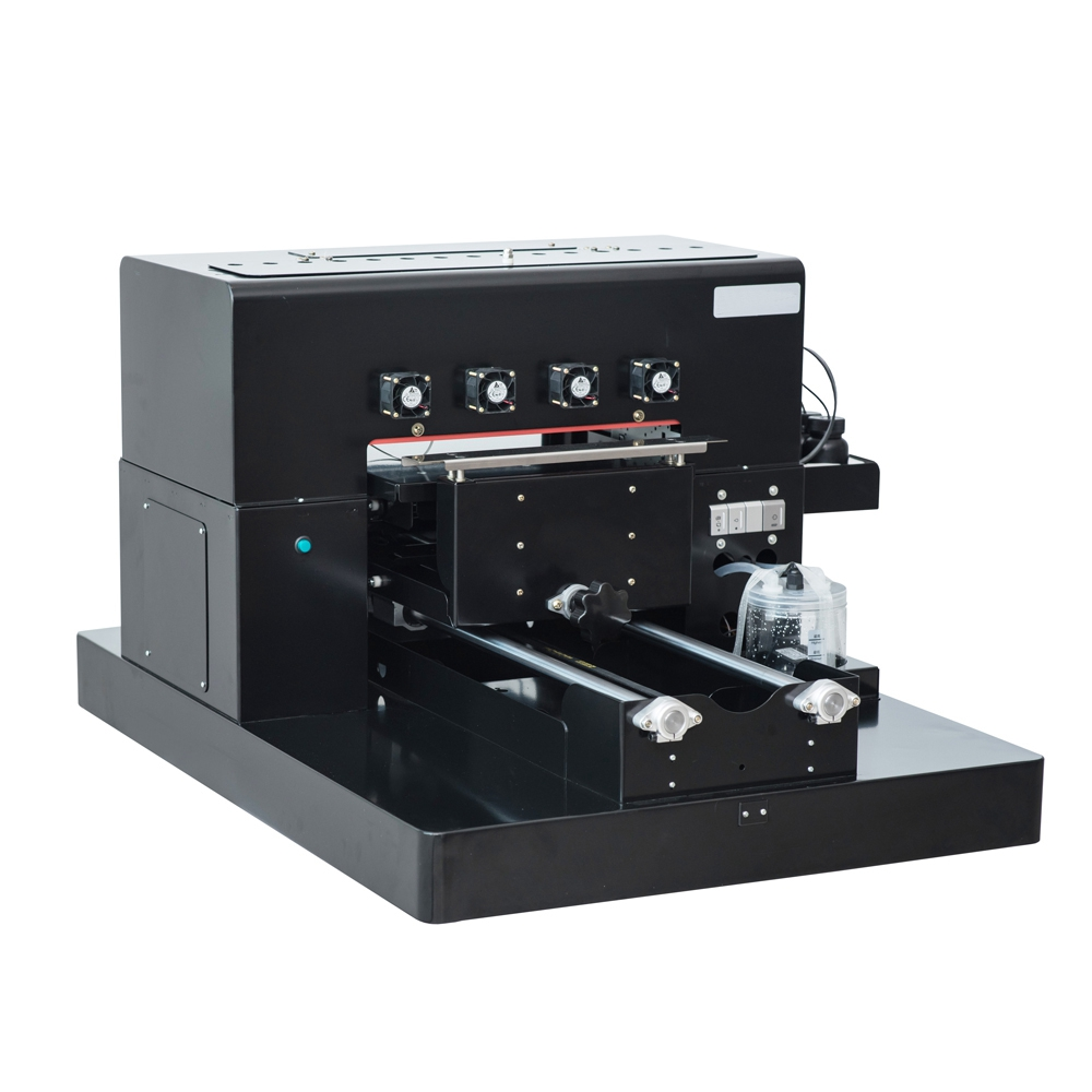 2019 A3 UV Flatbed Printer 6-color UV Print Machine with emboss - Office Electronics - Photo 2