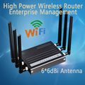 500mW High Power Wireless Router Enterprise Networking 64M Memory 300Mbps Strong Wifi Signal Repeater with 6*6dBi Antenna