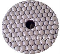 6 Shine DRY Polishing Pad 150mm Resin Bond Diamond Premium Polishing Pads DRY Polishing Concrete Marble