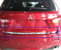 stainless steel Rear Trunk Lid Cover Trim For 2010-2013 Mitsubishi ASX