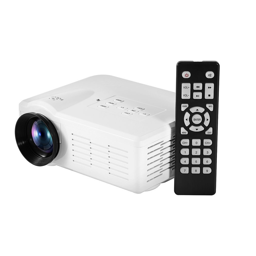 Mini LED Video Projector Portable TV DVD Game Projectors LCD HD Video 3D Home Theater Education HDMI VGA AV USB Beamer BL-35