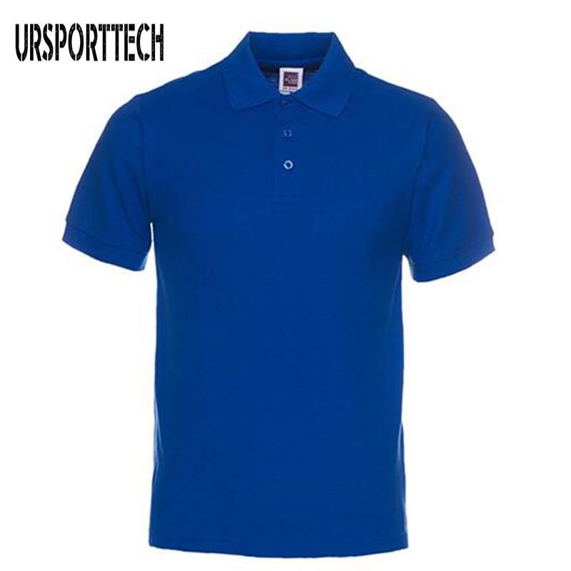 Babykleidung Mädchen Schlussverkauf 2019 Neue Hohe Qualität Männer Polo Hemd Business Männer Marken Polo Shirts Casual Einfarbig Polo Herren Kurzarm Polo
