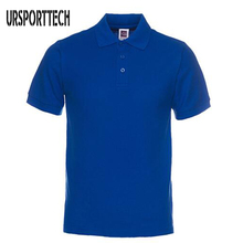 New Brand Men Polo Shirts Mens Cotton Short Sleeve Polos Shirt Casual Solid Color T Camisa Masculina De Marca S-3XL