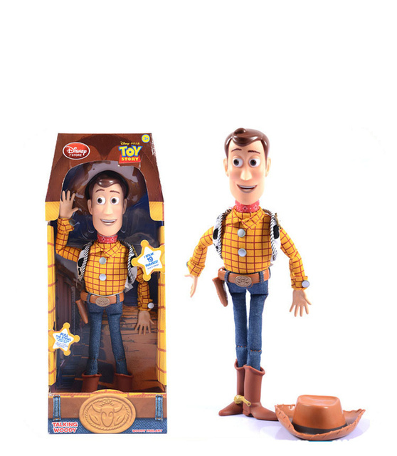 40cm toy story 3 talking woody action toy figures model toys children christmas gift best gift