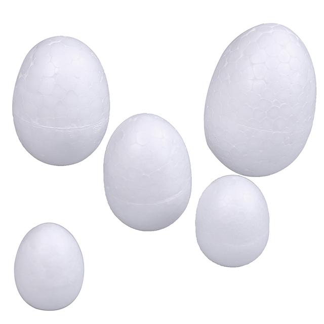 Easter polystyrene egg balls (10pcs/set 3-7cm) – Easter decor items