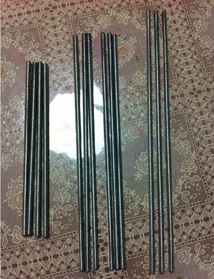 SWMAKER 3D printer accessory Reprap Huxley lead screw threaded rod kit M5/M6 top quality torsion spring 3d printer accessory