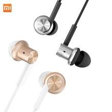 Original xiaomi mi híbrido en la oreja los auriculares estéreo de auriculares mi pistón 2 3 4 con el mic para hifi xiaomi teléfonos ipad mp3 pc 3.5mm