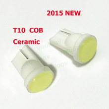 Short Section Ceramic Car Interior LED T10 COB W5W Wedge Side Light Bulb Lamp Car Light