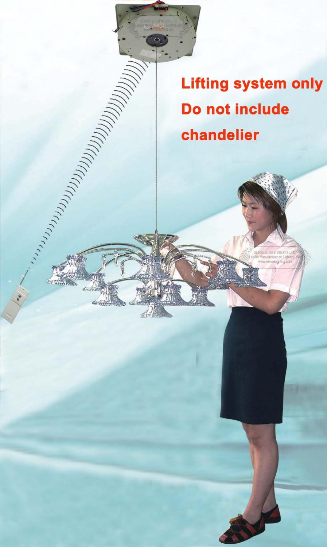 50KG 4M Electric Winch For Chandelier Lighting Lifter Hoist Light Lifting System Lamp Motor ,110V-120V,220V-240V