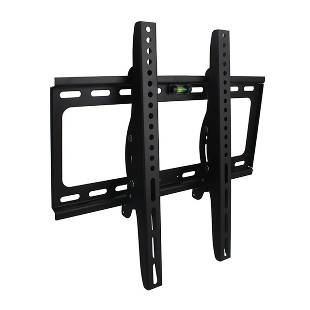 2016 new black adjustable swivel led lcd tv wall mount bracket 26 55 steel support 40kg monitor stand mount 29 34 38 42 50 51
