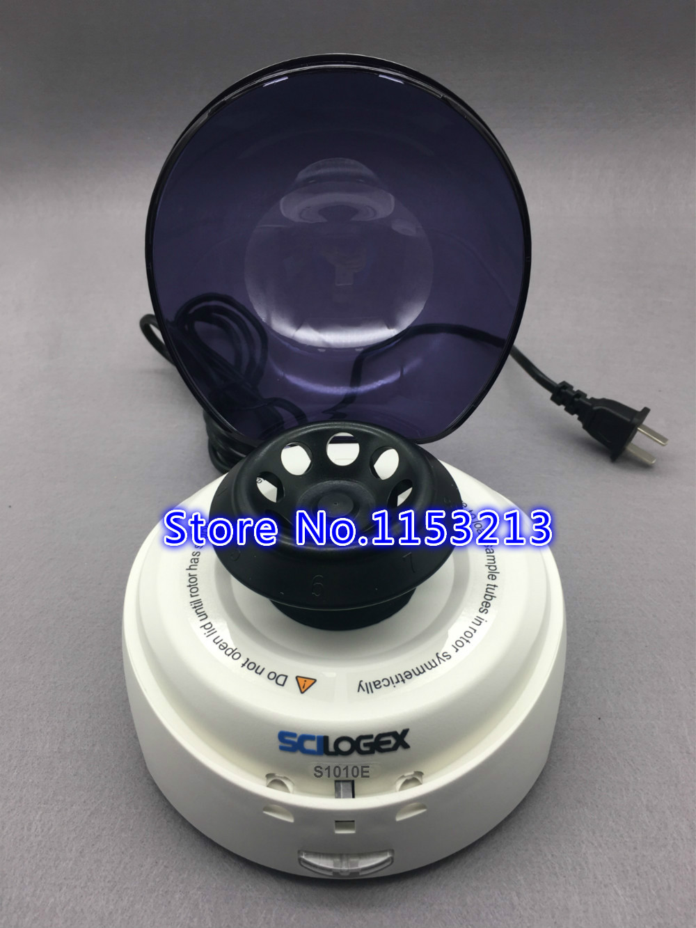 SCILOGEX S1010E Mini-Centrifugeuses 5000 rpm Mini palme Centrifugeuse 0.5 ml, 1.5 ml, 2 ml Centrifugeuse De Laboratoire