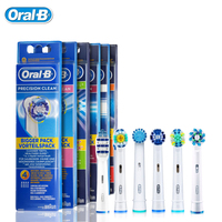 Oral B Genuine Replaceable Brush Heads Precision Clean Rotation Electric Toothbrush Heads 4 Heads EB17 EB18