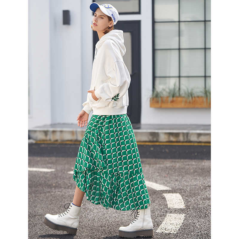 Toyouth 2019, Женская Весенняя толстовка, повседневная, с растительным принтом, свободная, с длинным рукавом, Новое поступление, женские модные пуловеры
