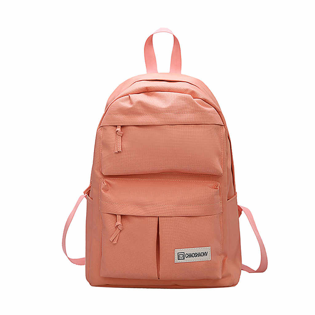 07e353984ae5 fashion backpack woman backpack Couple Schoolbag Travel Hiking Bag Solid  Backpack Collection Luminous Bag mochila bts #BA30
