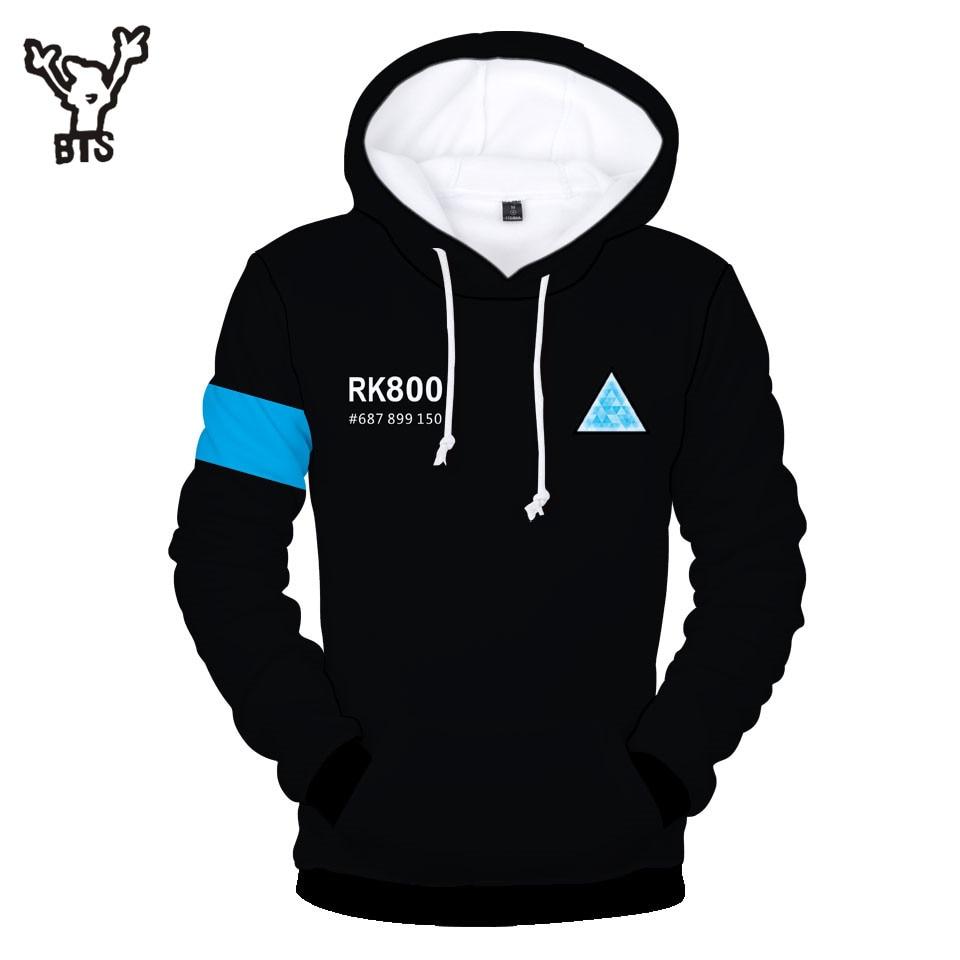 ddb1ef63fb5 BTS Detroit  Become Human 3D Kpop Hoodies Harajuku Sweatshirts Women Kawaii  Casual Long sleeve Print Plus Size 4XL Q0090 Q0091-in Hoodies   Sweatshirts  from ...