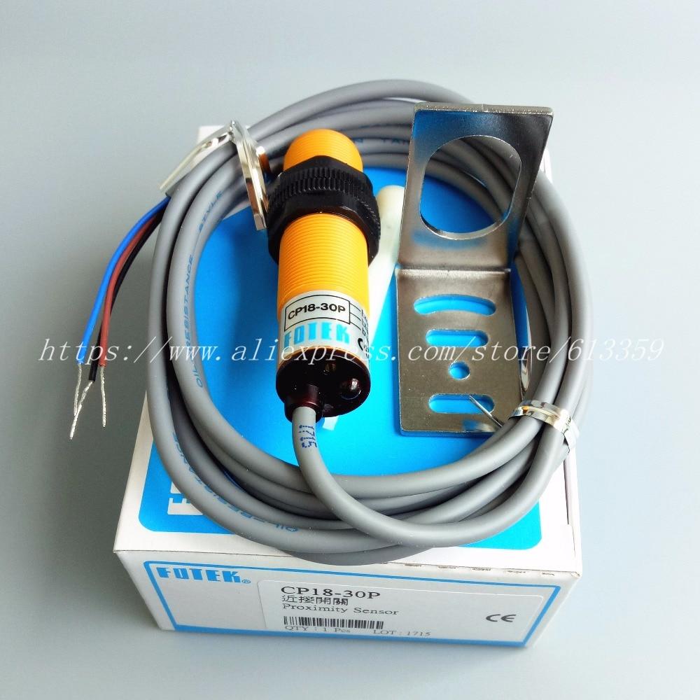 Aliexpress.com : Buy FOTEK CP18 30P PNP NO Cylindrical Capacitive ...