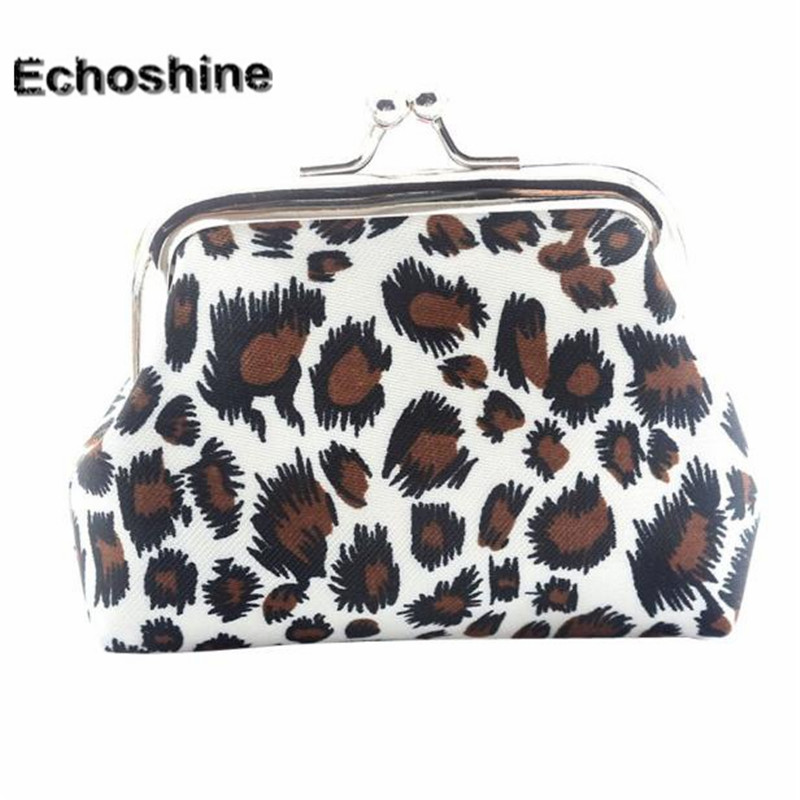 2016  hot sale and fashion classic Women Lady Retro Vintage Leopard Small Wallet Hasp Purse Clutch Bag & wholesale B10 new hot fashion unisex women men hipster vintage retro classic half frame glasses clear lens nerd eyewear 4 colors