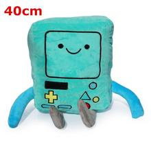 Adventure Time jake Finn Beemo BMO Plush Toy Stuffed Soft Doll Toys 40cm Children Gifts Retail