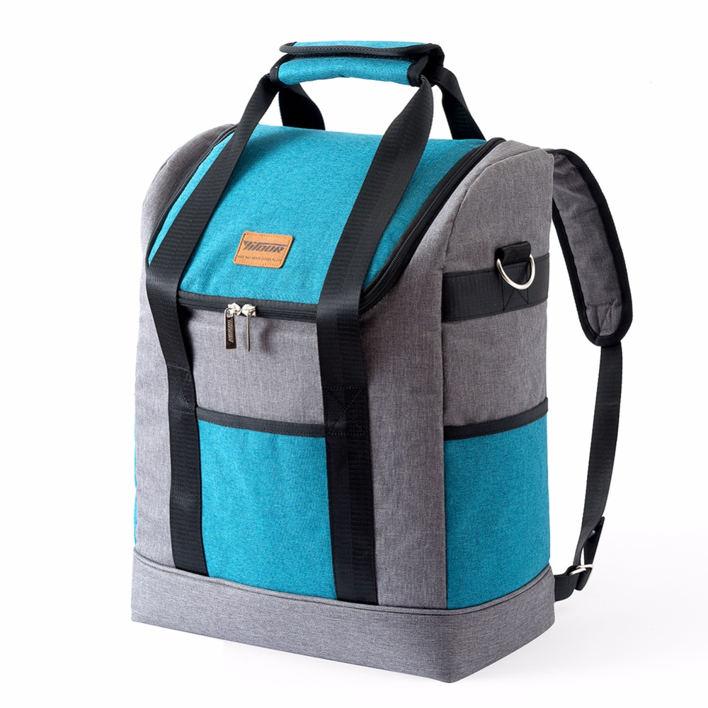 YITOUR Cooler Backpack Thermal Bag Insulated Beer Food Cooler Men Women Thicken Folding Fresh Keeping Picnic Thermo Backpacks бур fdw 41 4110