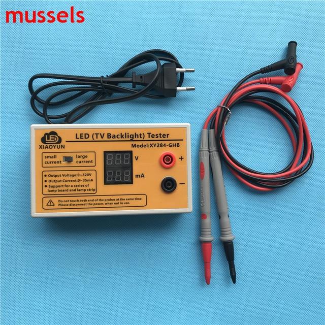 Probador de retroiluminación LED para TV, herramienta de prueba de tiras LED, salida de 0 320V con pantalla de corriente y voltaje para todas las aplicaciones LED nuevas 1 Uds