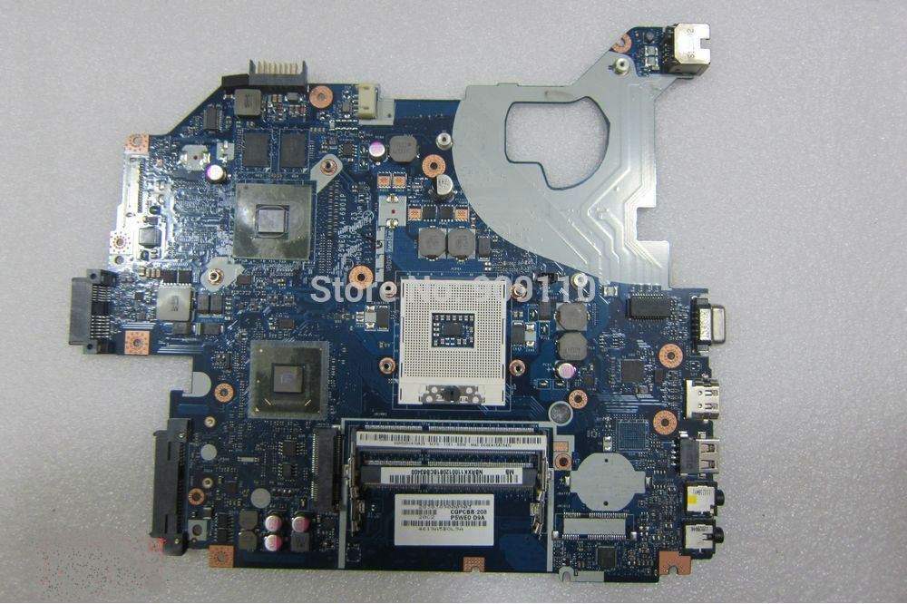 yourui for non-integrated 4 CHIPSET for ACER aspire 5750 laptop motherboard  NBRXK11001  LA-6901P mainboard full test