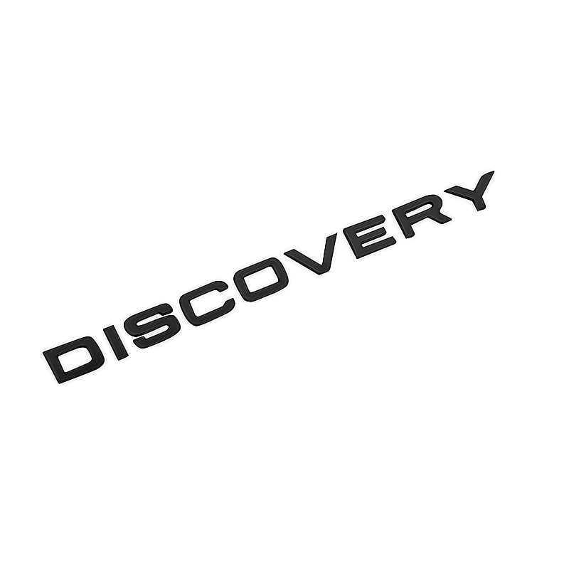 New 3D ABS Front Hood Discovery Car Styling ABS Refit Stickers Car Words Emblem for RANGE ROVER Badge diy 3d explorer fixed letters hood emblem chrome logo badge sticker for ford explorer sport car styling abs stickers