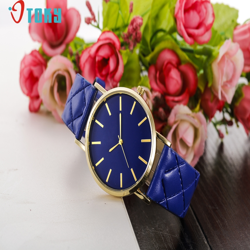 Excellent Quality OTOKY Relojes Mujer Quartz Watch Women Wristwatch Clocks Leather Band Watches Relogio Masculino Wholesale