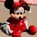 30 CM 2 unids/lote encantadora Mickey y Minnie Mouse peluche de felpa juguetes para niños de regalo precio más bajo P008