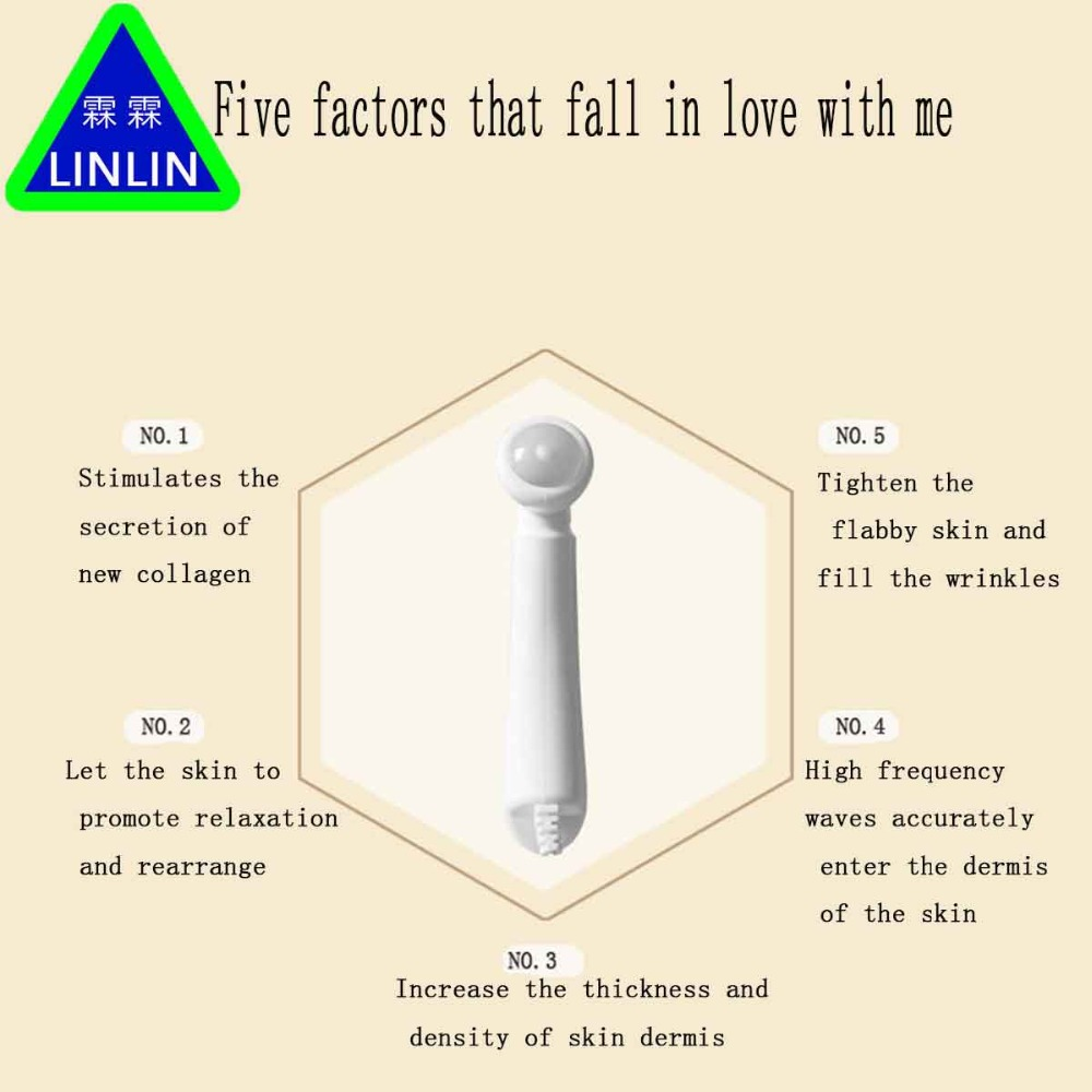 LINLIN  South Korea home high frequency mesotherapy Beauty Massager instrument oxygen acne mesotherapy instrument south mappingml300laser cast in the south line of instrument a level of a vertical precision cast line instrument