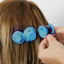 10PCS Mini curlers for hair soft Hairstyle Roller DIY Silicone Women Sleeping Hair Curler Girls Beauty Styling Makeup Tools