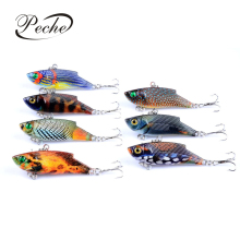 Купить с кэшбэком Peche Fishing Lures Artificial Wobblers Lifelike Hard Baits VIB Suit For All Water Painting Series Isca Pesca 5.5cm 9.4g