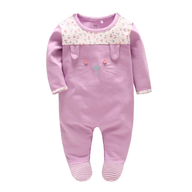 3839c35b3f68 Picturesque Childhood 0 3 Months Baby Girl Clothes Cotton Infant ...