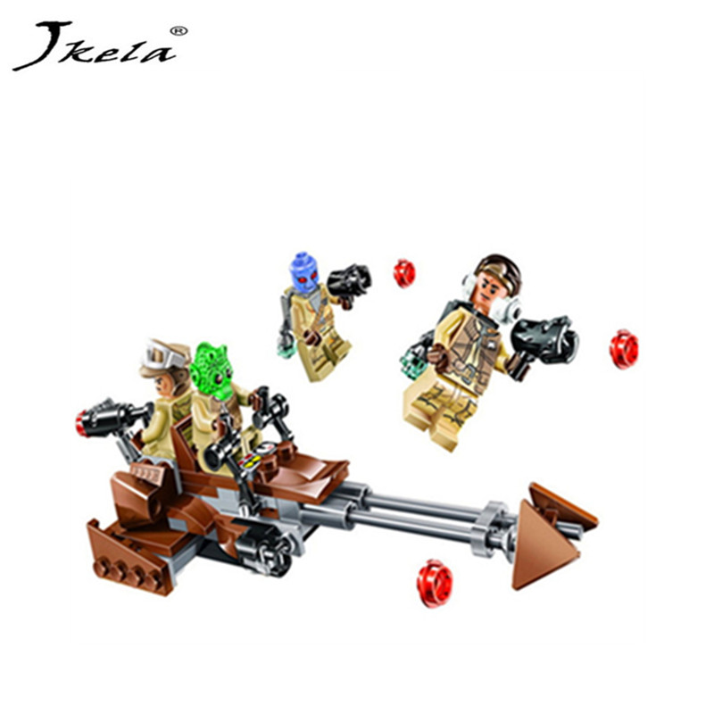 [New] Star Wars Force Awakens Rebel Building Blocks Toys Gift Alliance Battle Pack Series Compatible With Legoingly Starwars [jkela]499pcs new star wars at dp building blocks toys gift rebels animated tv series compatible with legoingly starwars page 6