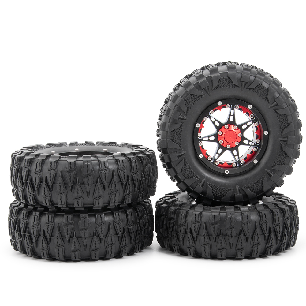 Dragon Claw <font><b>2.2</b></font> Inches Soft <font><b>Tire</b></font> Tyre Wheel Skin For RC Climbing Off-road Car Model SCX10 90046 D90 TRX4 image