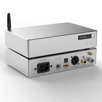 SMSL B2 USB ЦАП DSD XMOS AK4127 Интерфейс Высокая точность источник синхронизации Bluetooth цифровой Интерфейс к I2S коаксиальный/оптический/AES/BNC