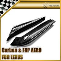 Car Styling For Lexus IS250 Real Carbon Fiber Rear Bumper Splitter Spat Addon Extension In Stock
