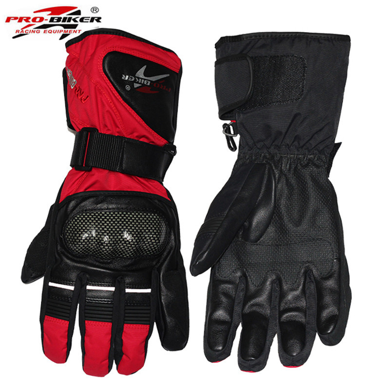 PRO-BIKER Winter Motorcycle gloves Luva Motoqueiro Guantes Moto Luvas de moto Skiing Motocross gloves HX05 Gants Moto
